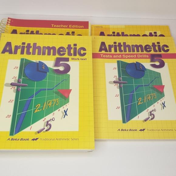 Homeschool Arithmetic 5 Curriculum